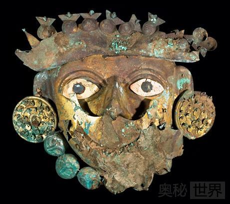 莫切文化古墓