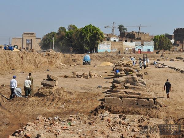 新发掘的埃及古道