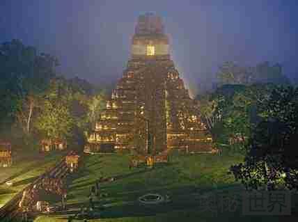 火山灰拯救了古玛雅城邦