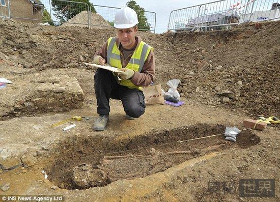 英国考古发现比斯特古代守护神遗骸