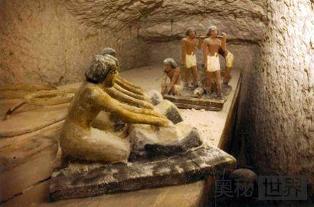 埃及发现距今4000多年的完整古墓