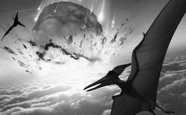 灭绝了恐龙的陨石催生了苹果