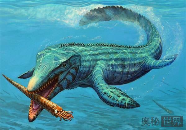 沧龙:远古首个淡水物种
