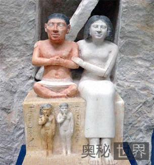 埃及侏儒雕像:侏儒在古埃及地位很高