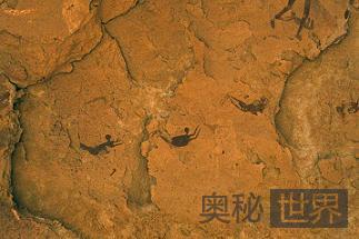 8千年前古埃及神秘嬉水壁画