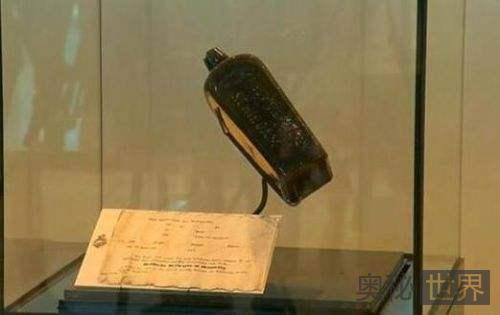 世界最古老漂流瓶132年后现身澳大利亚海滩
