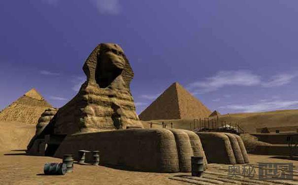 狮身人面像之谜:埃及狮身人面像鲜为人知的秘密