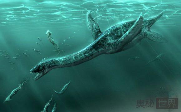 尼斯湖水怪真相竟是古代蛇颈龙的后裔