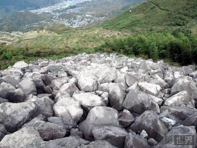 绍兴发现规模最大的第四纪冰川遗迹