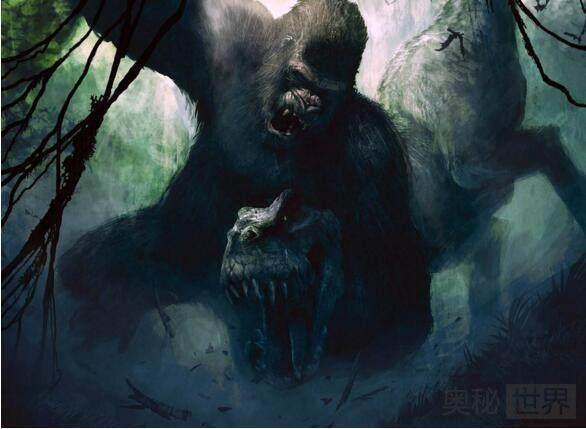 史上最大的巨猿,高3米重1200斤,手撕霸王龙却喜欢吃竹子