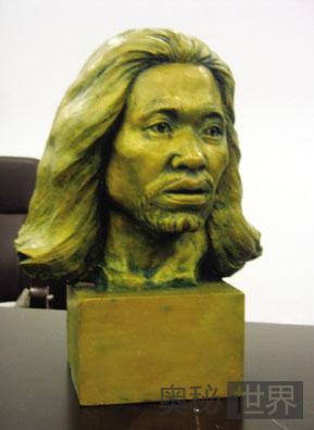 江苏常州复原6000年前人类先祖颅骨头像