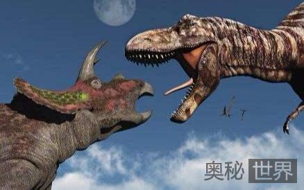 三角龙和霸王龙为何成为天生死敌