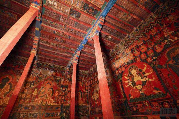 古格王朝壁画:消失的王国和他永不失落的艺术