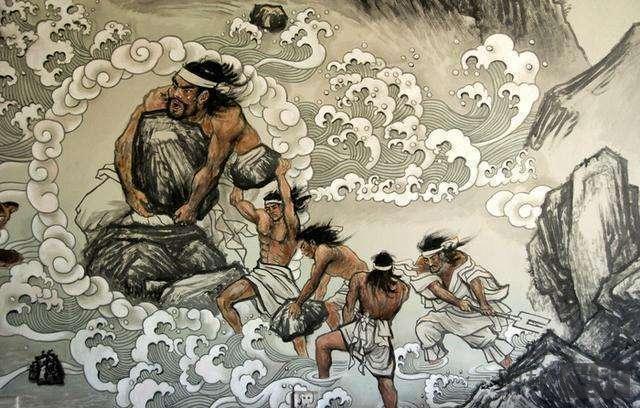 为什么史前大洪水的记载只有中国是在治水, 其他都在逃命?