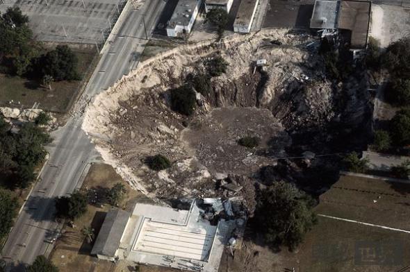 佛罗里达州温特帕克天坑