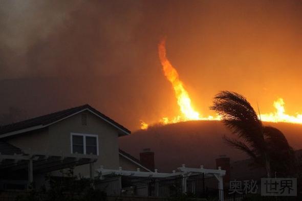 2008年美国加州火旋风