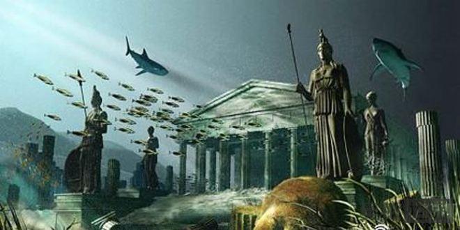 神秘的海底人与海底文明