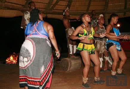 南非布须曼人的爱情,只爱肥臀姑娘