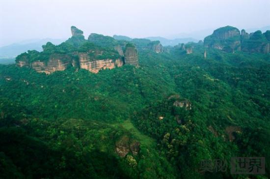中国丹霞地貌