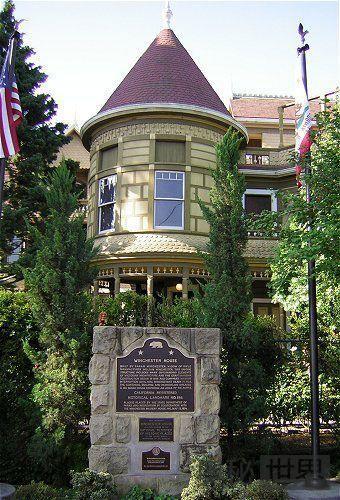 美国加州的温切斯特神秘屋