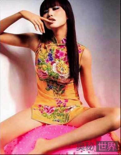 现代版旗袍美人爱