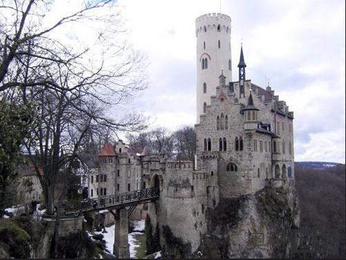 德国利希滕斯坦城堡