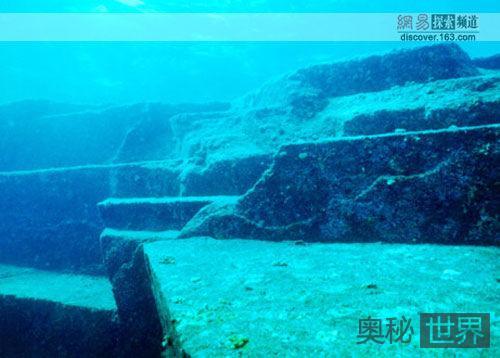 大西洋海底神秘的水下建筑之谜