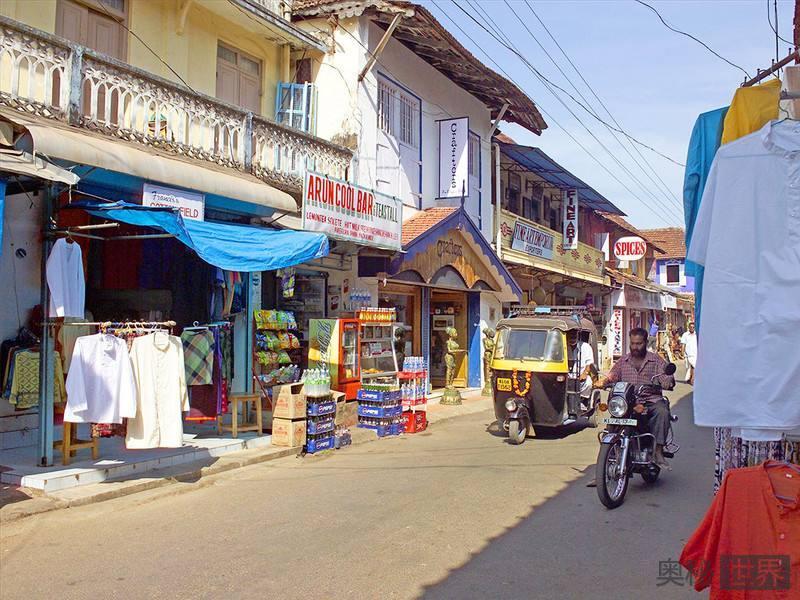 处处弥漫中国风的印度小镇科钦