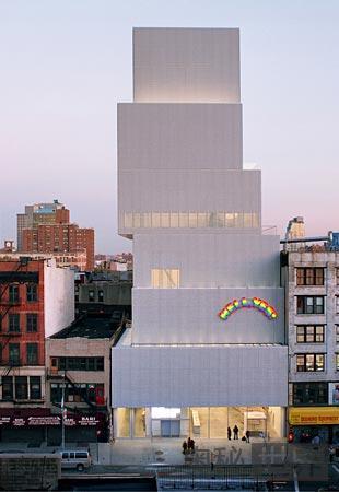 纽约,纽约新当代艺术博物馆