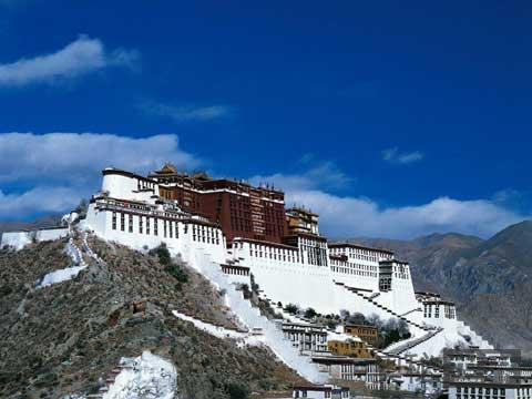 中国西藏 天葬