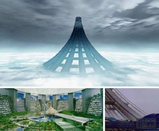 X-SEED 4000生态城 未来世界第一高塔