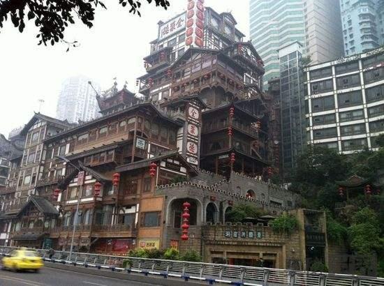 洪崖洞:巴渝民俗文化的精髓