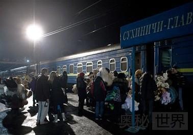 俄罗斯和乌克兰边界