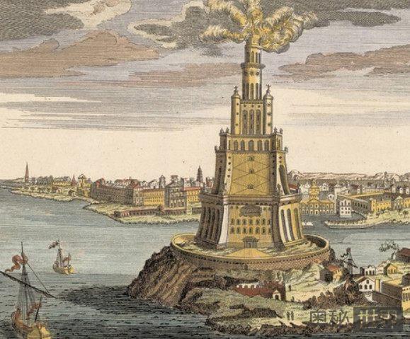 世界著名的七大奇观之一,亚历山大灯塔屹立了1500年