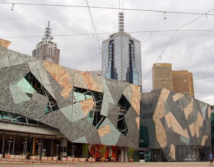澳大利亚墨尔本联邦广场