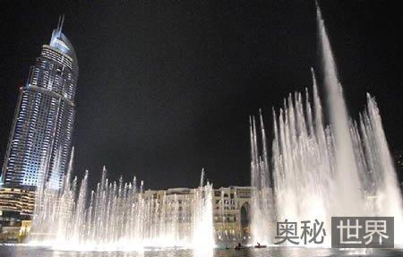 世界上最高的喷泉