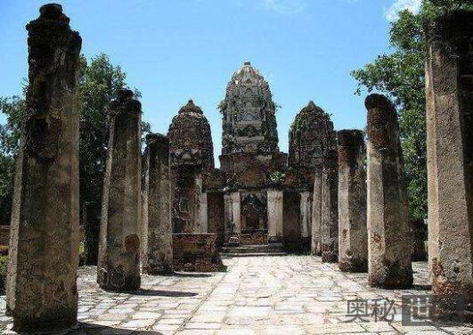 现代文明遗址很有可能化为废墟