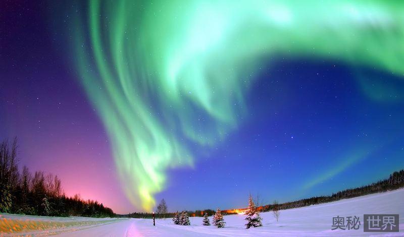 为什么极光只有南北极才有