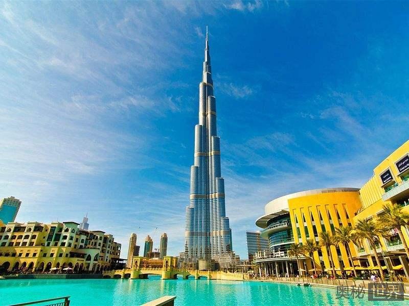 迪拜哈利法塔有多高