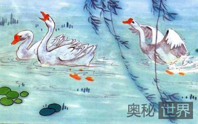 骆宾王咏鹅的故事