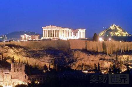 雅典卫城:供奉雅典娜的圣地