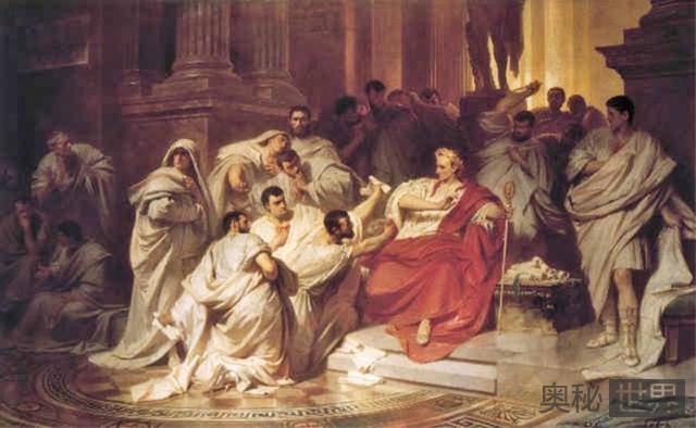 凯撒一生中的最后一句话:是你吗,布鲁图!