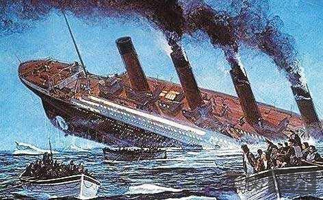 揭露泰坦尼克号沉没真相:月球引发强潮汐