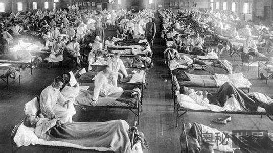 """史上最致命传染病""""西班牙流感""""导致2200万人死亡"""