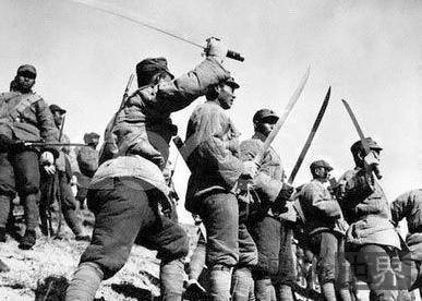 抢占升山桂系王牌第七军与日军白刃肉搏