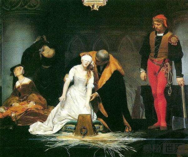欧洲女孩被处决前得到求婚可免死