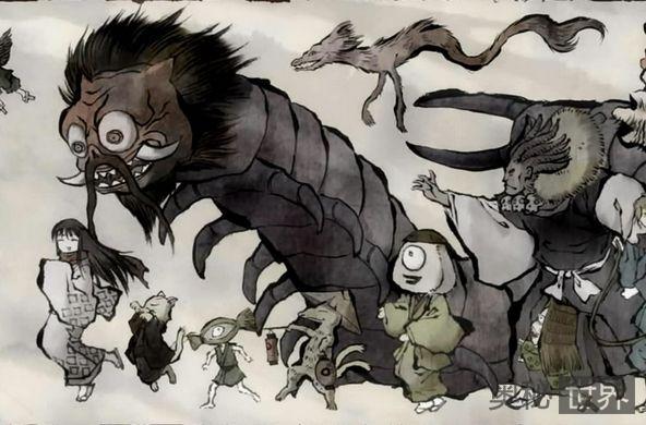 盘点日本传说中的妖怪