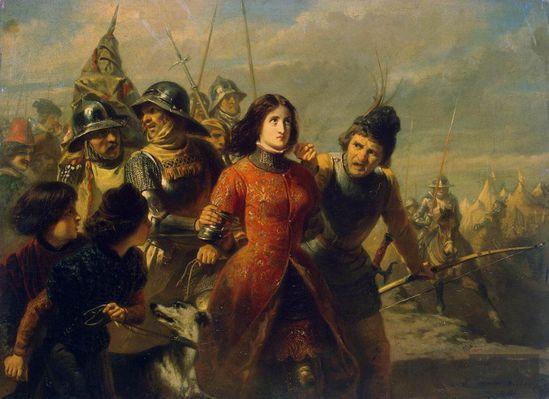 """圣女贞德之死:欧洲第一殉难""""异端女巫"""""""