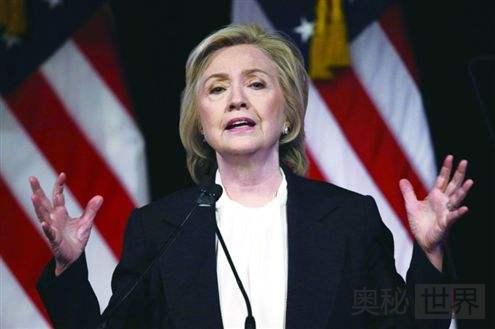 美国第一夫人希拉里·克林顿的后宫生活