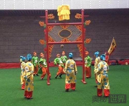 """蹴鞠简介:中国""""足球""""的前世"""